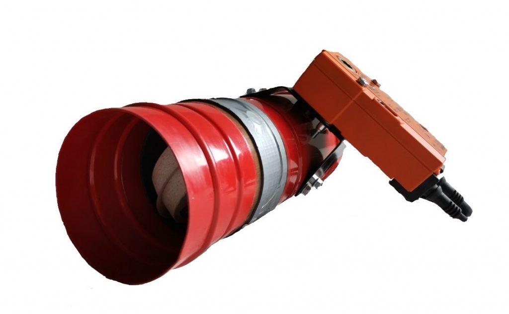 Clapeta antifoc circulara REF120
